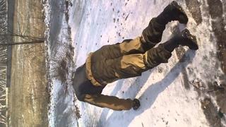 инструктор ОФП команды СОКОЛ делает тест Купера