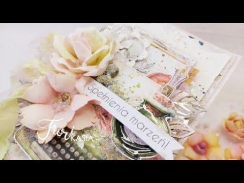 Pastelowa kartka z kwiatami Fiori oraz prezentacja nowych wykrojników cardmaking