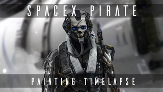SpaceX Pirate - Character Design Timelapse