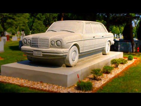 Шокирующие Памятники КРИМИНАЛЬНЫМ АВТОРИТЕТАМ из 90х