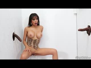 Gia Milana - Two Big Black Cock (gloryhole glory hole anal bbc )