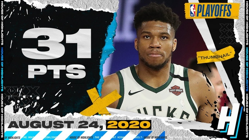 Giannis Antetokounmpo 31 Pts 15 Reb 8 Ast Full Game 4 Highlights Bucks vs Magic 2020 Playoffs