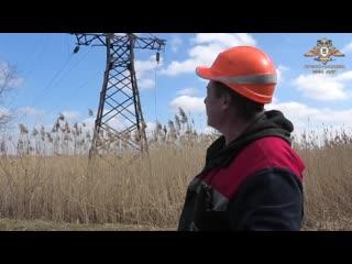 Старомихайловка (ДНР).21 марта,2019.Украинский обстрел оставил Старомихайловку без электричества.
