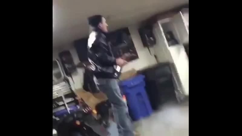 Доигрались в гараже