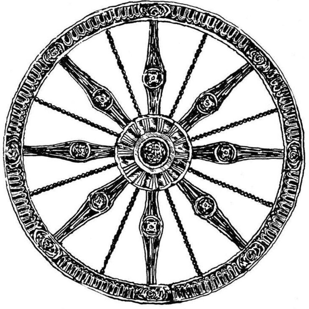 колесо символ