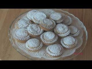 рождественские корзиночки печенье часть 2. mince pies