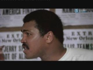 Мухаммед Али показывает фокусы детям а маленький Афроамериканец это Майк Тайсон после этого Тайсон захотел стать боксером