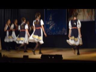 танец казкада
