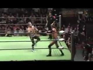() NOAH  - Kotaro Suzuki vs Roderick Strong (GHC Junior Heavyweight Title Match)