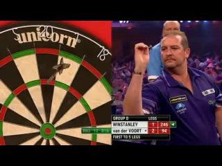 Dean Winstanley vs Vincent van der Voort (Grand Slam of Darts 2013 / Group D)
