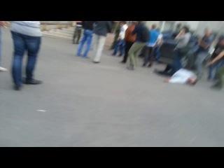 Нацгвардия убивает людей из Красноармеска