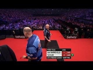 Raymod van Barneveld vs Phil Taylor (2014 Premier League Darts / Semi Final)