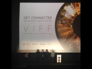 VIFF 2014 - Kame speaking English