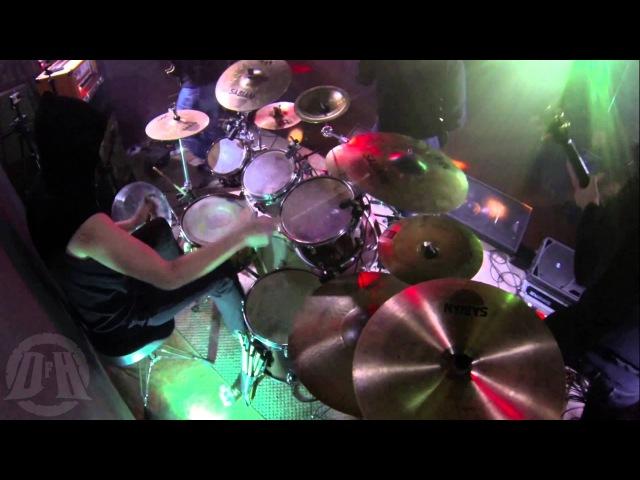 MORD'A'STIGMATA@Praefatio Pro Defunctis DQ live in Poland 2015 Drum Cam
