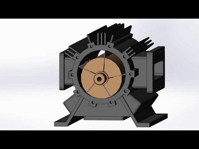 Шиберные (лопастные) компрессоры
