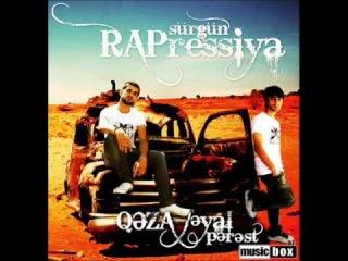 Qeza Boss(Turkay Azəri,XəyalPərəst, Xəzan,ŞahSafir)-Rapressiya 2009(Album:Rapressiya Sürgün)