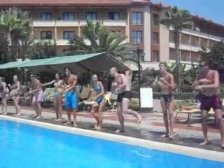 клубный танец отеля ♀