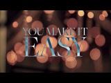 Jason Aldean - You Make It Easy (Lyric Video)
