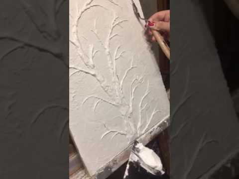 Барельеф сакура цветы