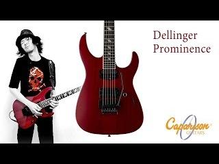 Caparison Guitars | Dellinger Prominence demo by Jake Cloudchair