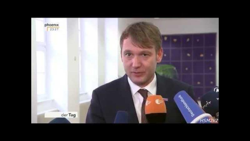 AfD - André Poggenburg: Ich möchte so den Druck von der Partei nehmen