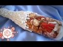 🎄Очень легкий декор бутылки к новому году Мастер класс от Ютты Арт Новогодний декупаж❄️