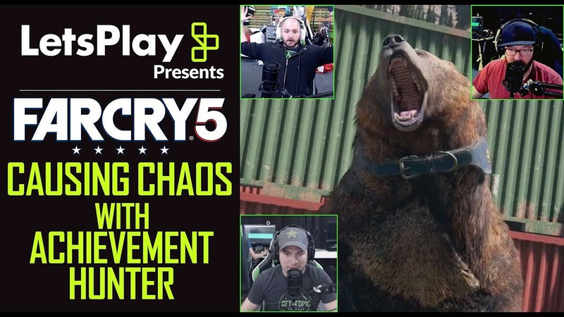 Far Cry 5 Causing Chaos With Achievement Hunter | Let's Play Presents | Ubisoft [NA]