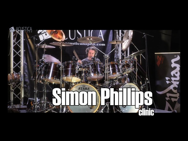 Simon Phillips clinic ACUSTICANAPOLI