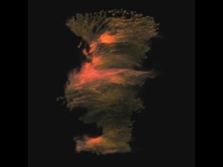 3dsmax tutorial: particle flow and fumefx tornado part2