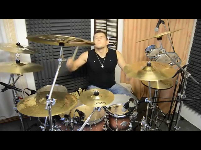 Scooter - Fire (Mika Ronos Drum Cover) 2013
