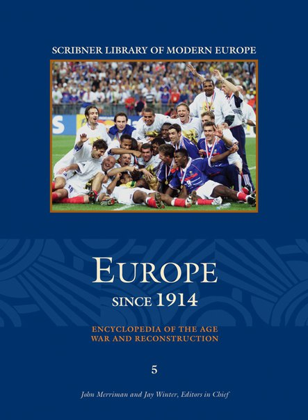 Book cover Europe Since 1914. Vol