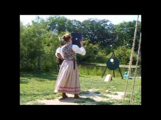 Stickbow Archery Trick shooting show highlights