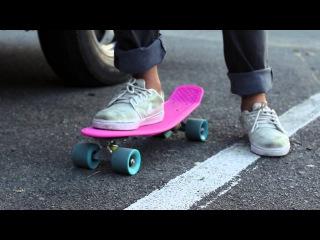 Как ездить на скейте Penny Boardосновы езды на пенни борде