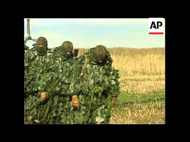 CHECHNYA: RUSSIAN JETS ARTILLERY CONTINUE ONSLAUGHT