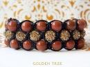 Тройной браслет Шамбала Способ №2 Triple shamballa bracelet Method number 2