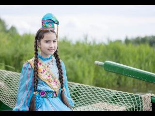 """Саида Мухаметзянова (13 лет) - """"СУ БУЙЛАП"""" (Вдоль реки). Татарская народная песня"""