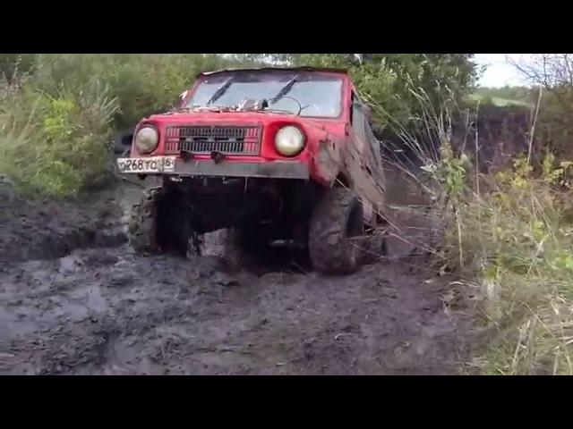 LUAZ ATV Луаз на 26 AT квадрорезине Extreme 4x4