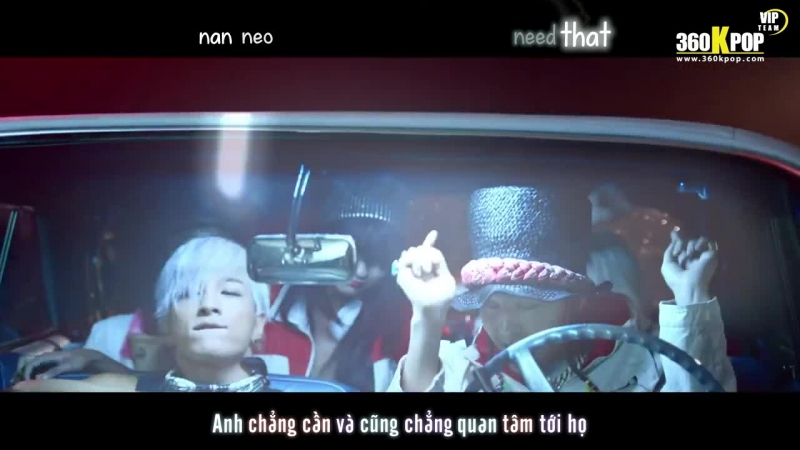 Vietsub Kara MV GD x Taeyang Good Boy VIPTeam 360KPOP