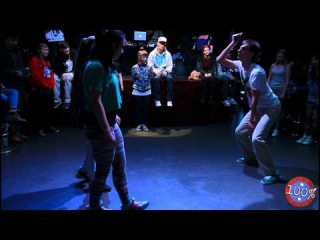 "Dancehall Final 2vs2 - Belka & Hope vs Khalis & Bodya ""100% Hip-Hop"""