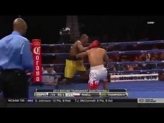 John Thompson vs Ricardo Pinell full fight