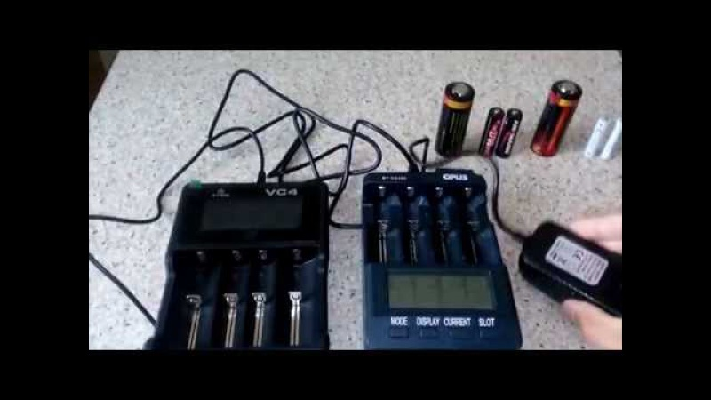 Сравнение зарядных устройств Opus BT C3100 и XTAR VC4