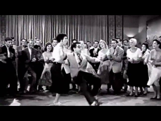Real 1950s Rock Roll Rockabilly dance from lindy hop