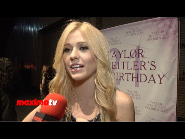 Katherine McNamara Interview | Taylor Spreitler's 21 In The City | Red Carpet