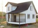 Дом 6.0х8.0м. с двухэтажным эркером цена 795.224 руб. Дома, Бани, Бытовки в СПб