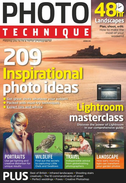 Photo Technique - 209 Inspirational Photo Ideas (Autumn 2015) (True PDF)
