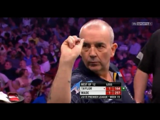 Phil Taylor v James Wade (2015 Premier League Darts / Week 15)