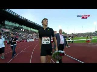 Christophe Lemaitre wins Men's 200m IAAF Diamond League Athletics - Oslo 2015