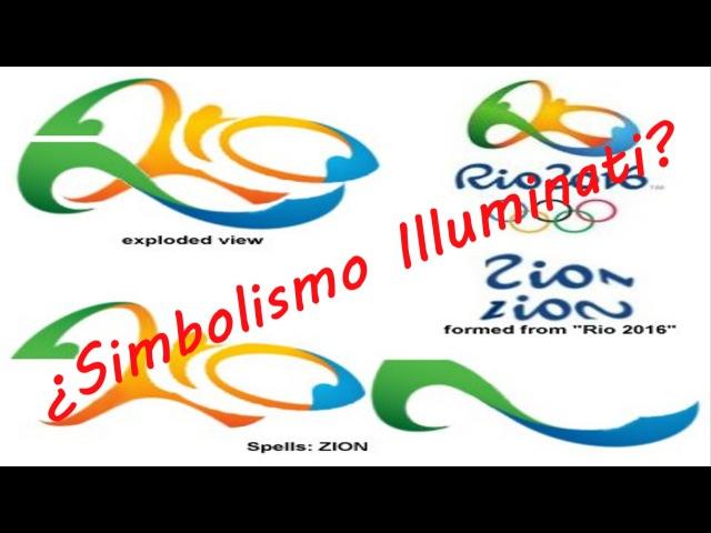Rio 2016 ¿Logotipo Illuminati