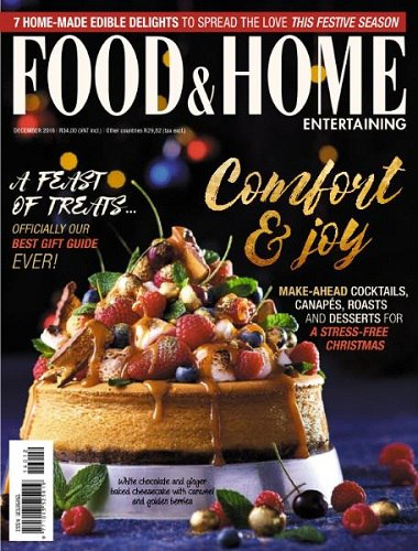 Food Home Entertaining December 2016
