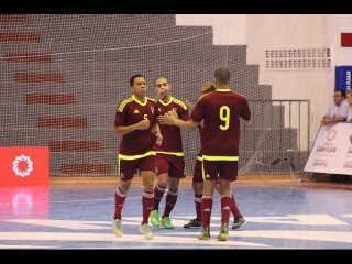 #CopaAmericaFutsal - #Venezuela vs #Bolivia #GrupoA